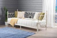 SOLE-sohvasänky, kermanvalkoinen runko