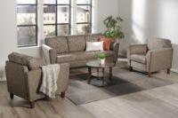 ELLA 3-istuttava sohva ja 2 lepotuolia