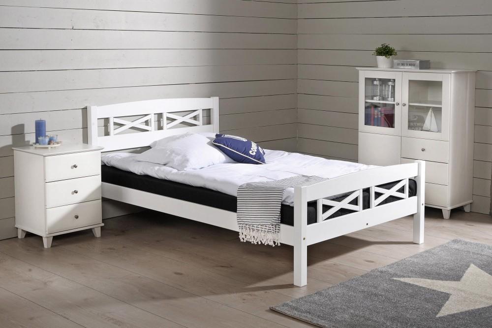 myydään sänky 120x200 MERI sänky, 120 x 200 cm (valkoinen)   Sängyn rungot | Sotka myydään sänky 120x200