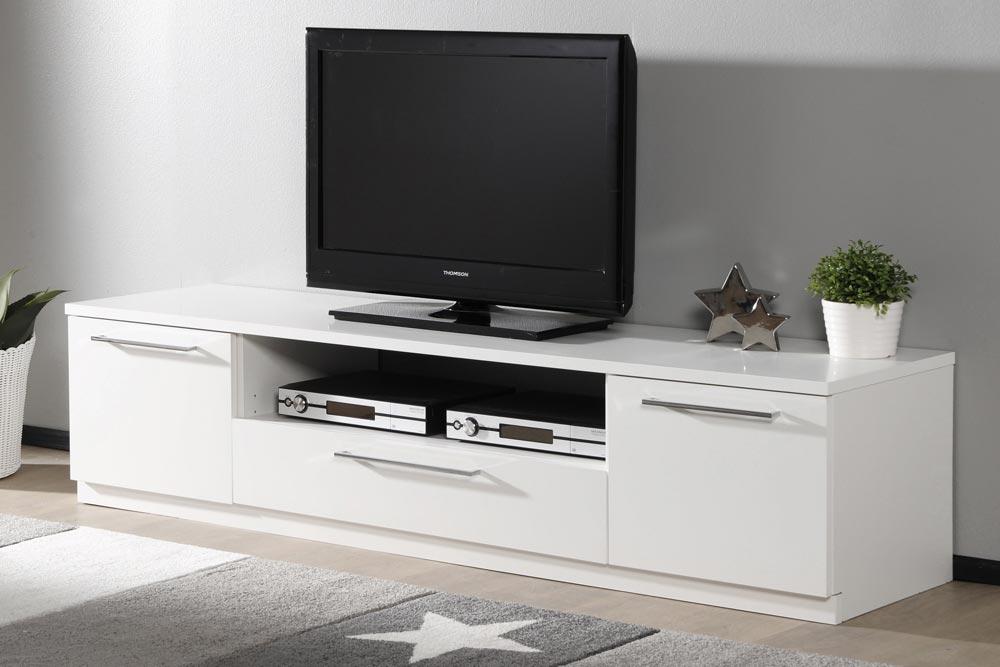 MONACO tv-taso (valkoinen) - TV-tasot ja mediatasot   Sotka
