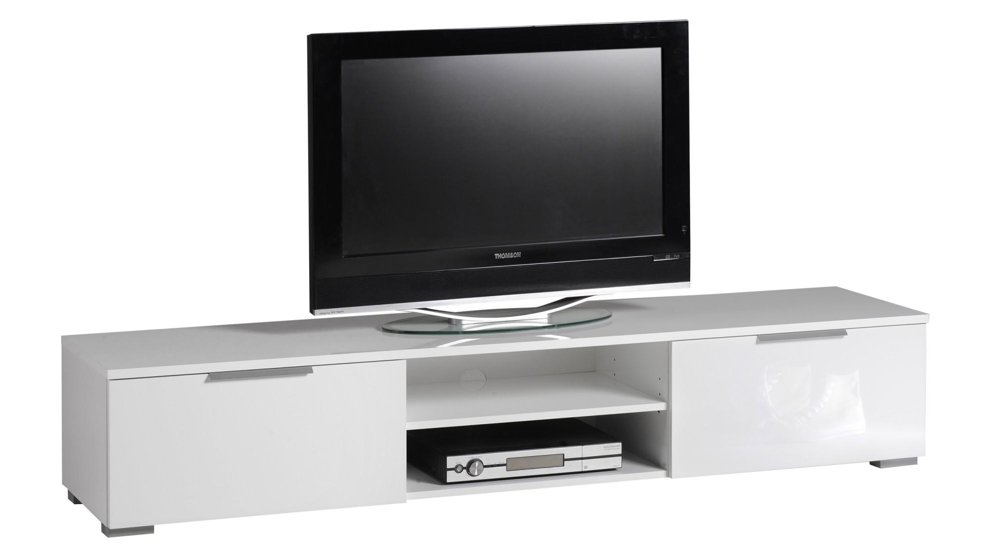MATCH tv taso (korkeakiilto valkoinen)  TV tasot ja