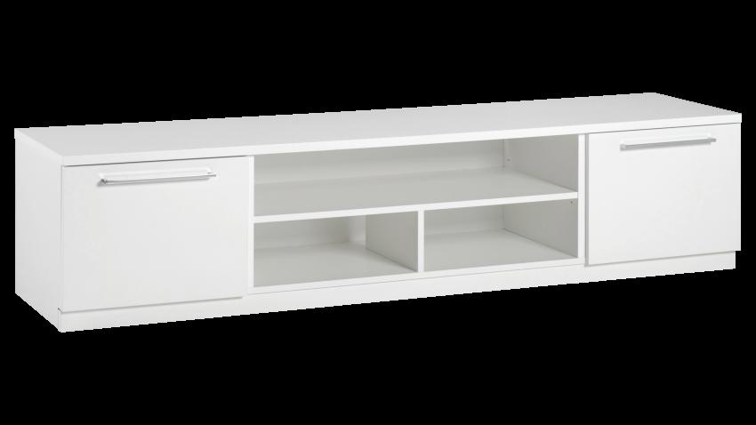 MONACO tv-taso 180cm 2xovi+avo (valkoinen) - TV-tasot ja mediatasot   Sotka