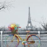 BIKE IN PARIS-taulu